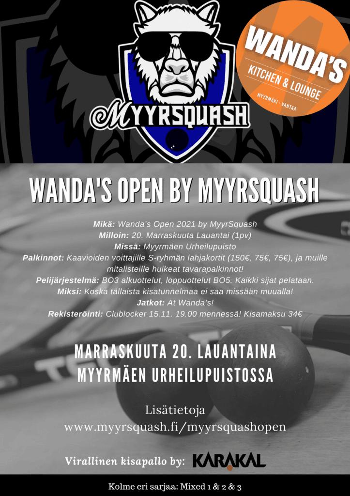 Wanda's Open by MyyrSquash 2021