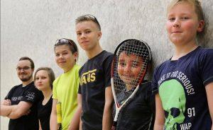 MyyrSquash Juniori squash alkeiskurssi Vantaa